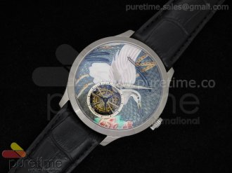 Porcelain Crane Tourbillon