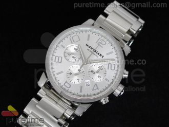 TimeWalker Chrono SS White