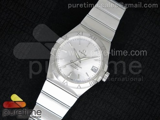 Constellation 38mm SS White Dial
